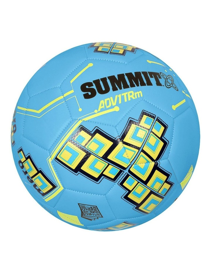 ADV1 Size 5 Trainer Soccer Ball Blue image 2
