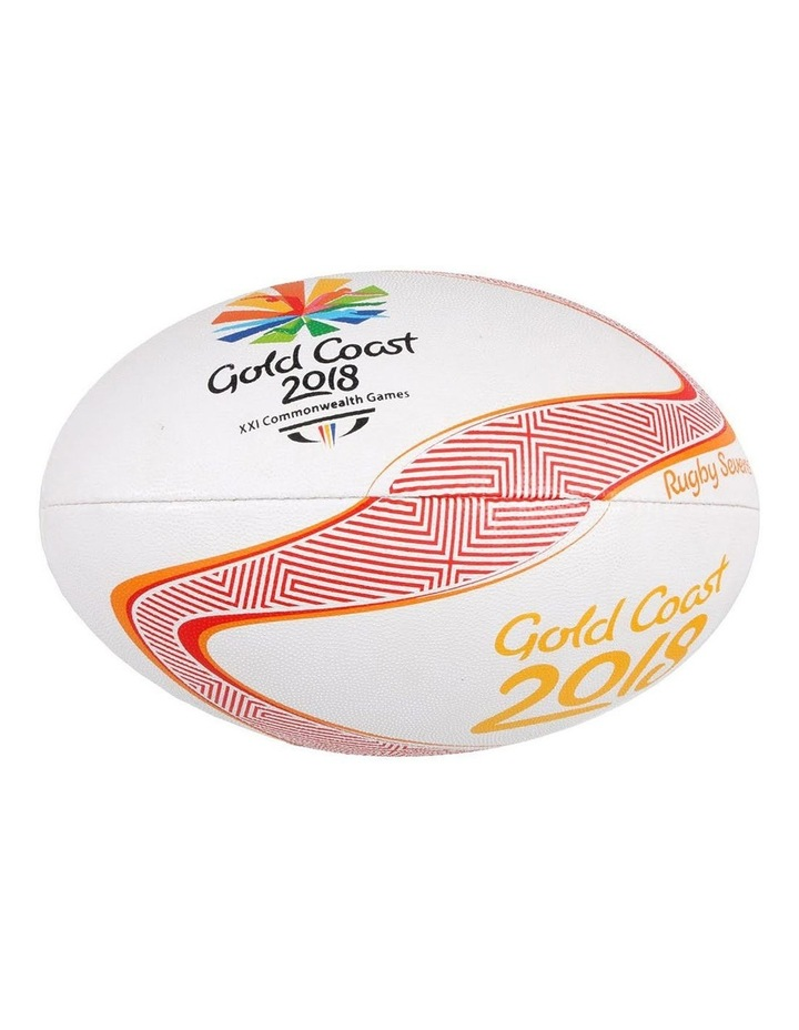 Comm Games Gold Coast 2018 Rugby Mini - White image 1
