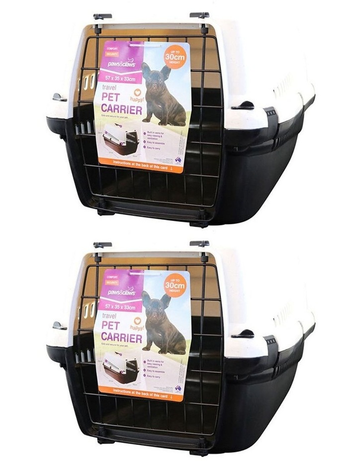 2 Pack Large Pet Carrier image 1