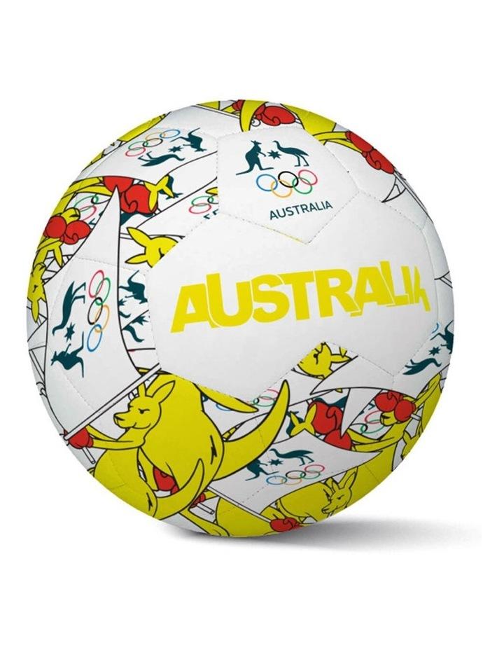 Boxing Kangaroo Size 5 Soccer Ball image 1