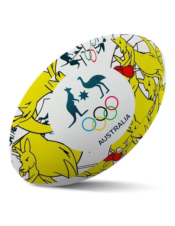 Boxing Kangaroo Size 5 Rugby Ball image 1