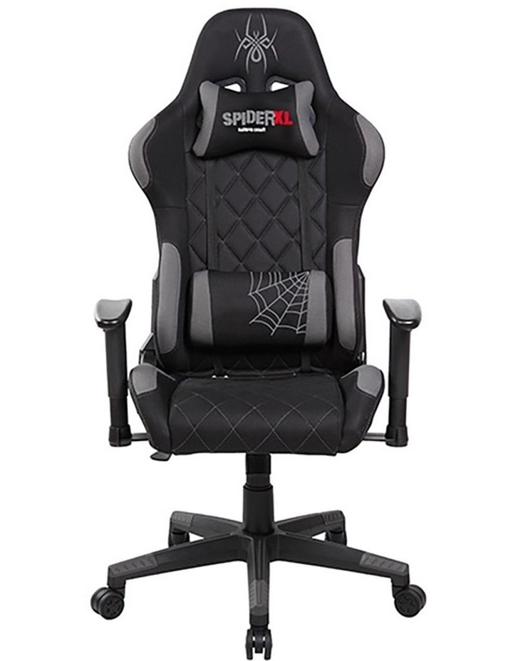 Spider XL Gaming Chair - Black/Grey image 1