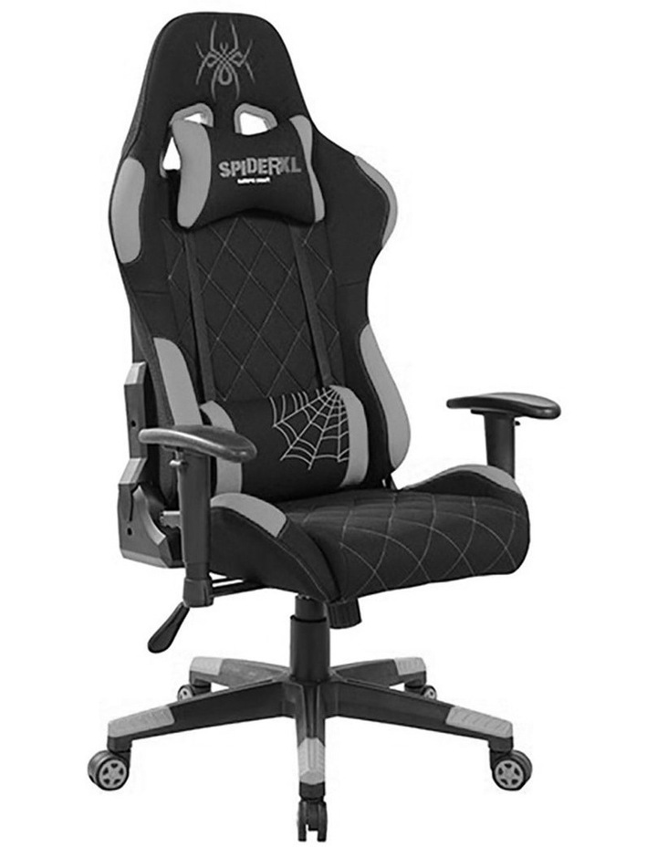 Spider XL Gaming Chair - Black/Grey image 2