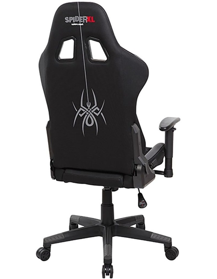 Spider XL Gaming Chair - Black/Grey image 4