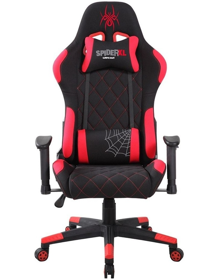 Spider XL Gaming Chair - Black/Red image 1