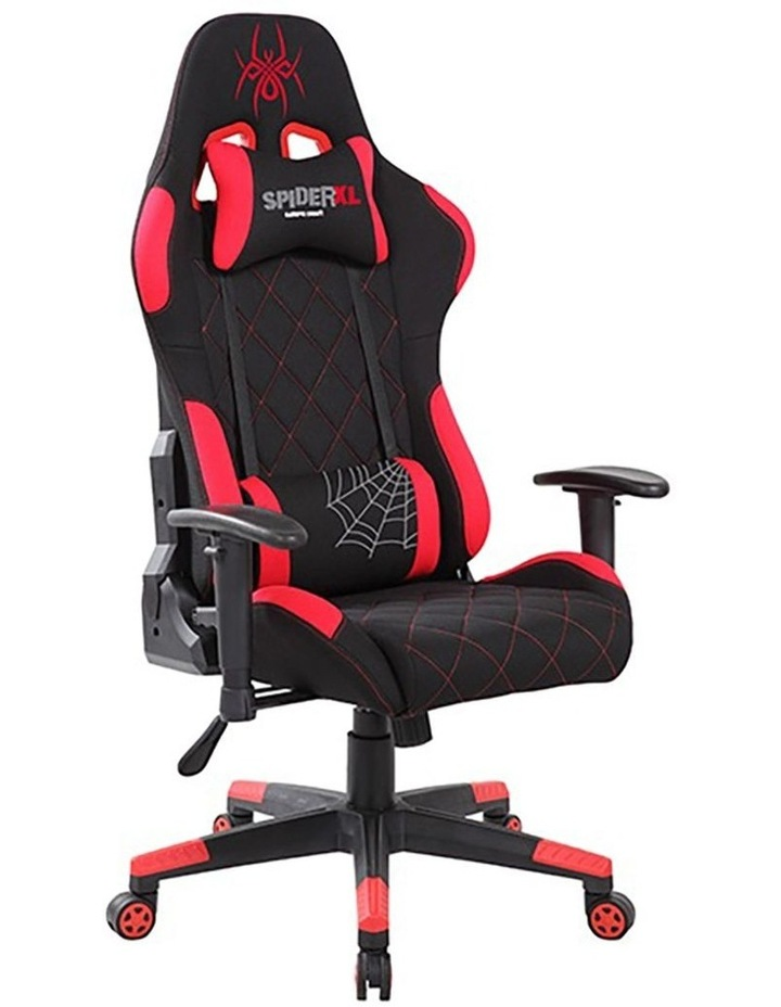 Spider XL Gaming Chair - Black/Red image 2