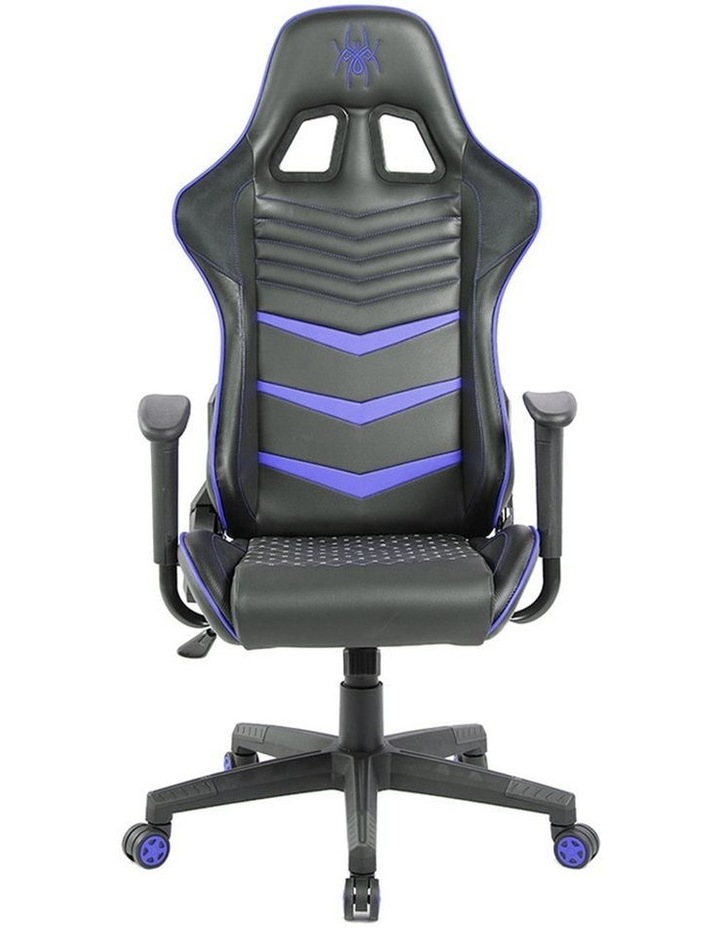 Spider Iron Gaming Chair - Black/Blue image 2