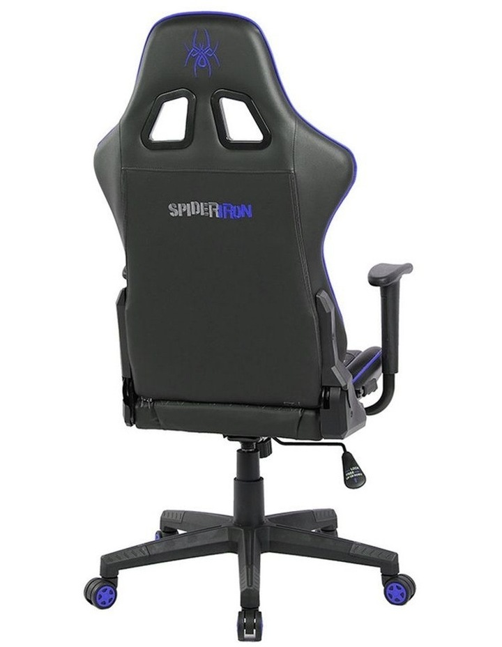 Spider Iron Gaming Chair - Black/Blue image 3