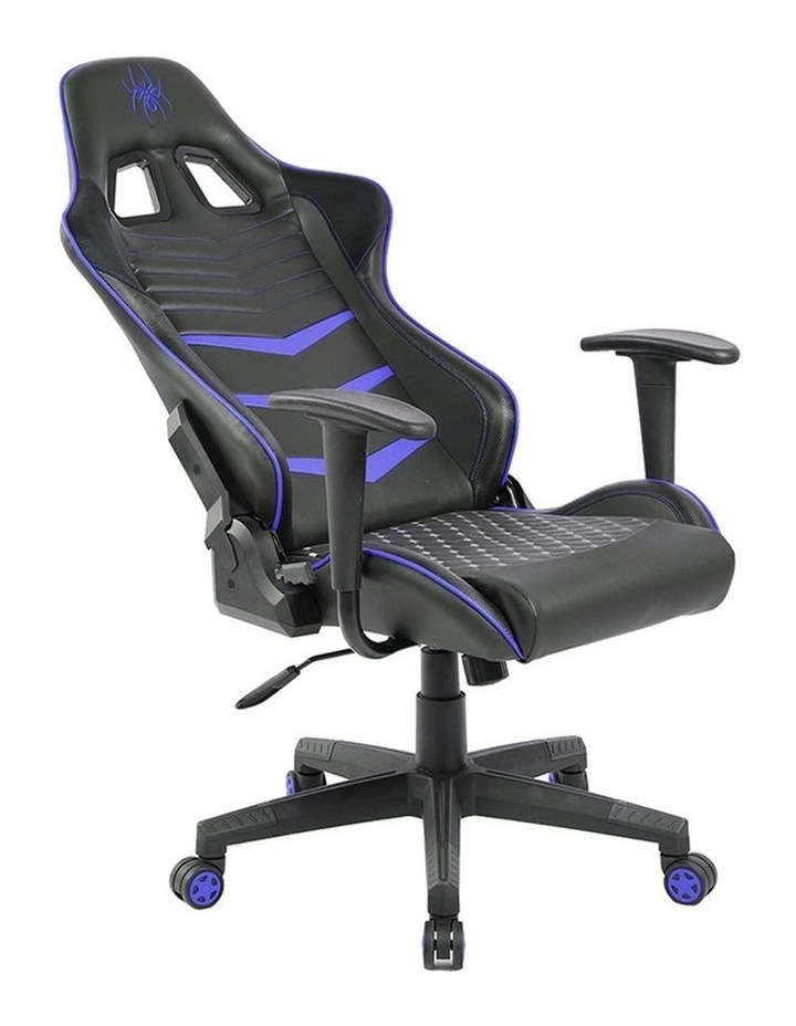 Spider Iron Gaming Chair - Black/Blue image 6