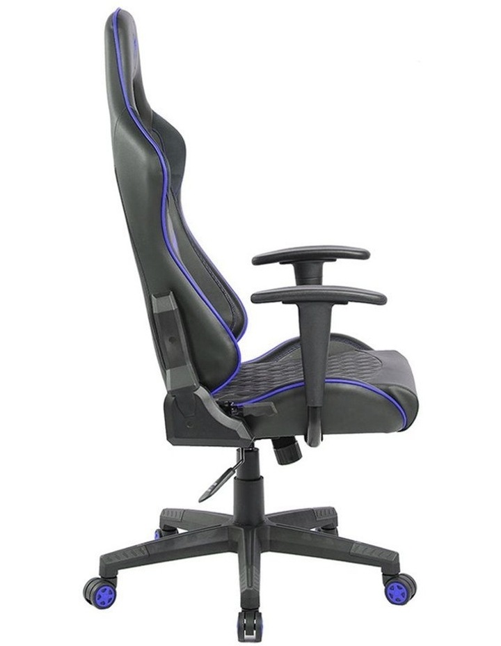 Spider Iron Gaming Chair - Black/Blue image 7