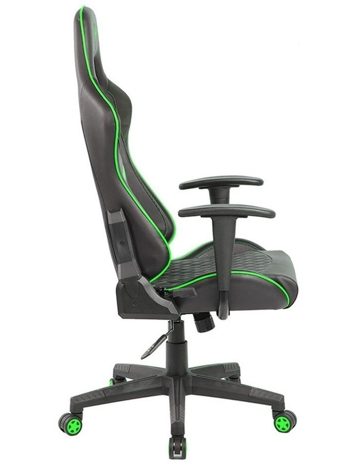 Spider Iron Gaming Chair - Black/Green image 7