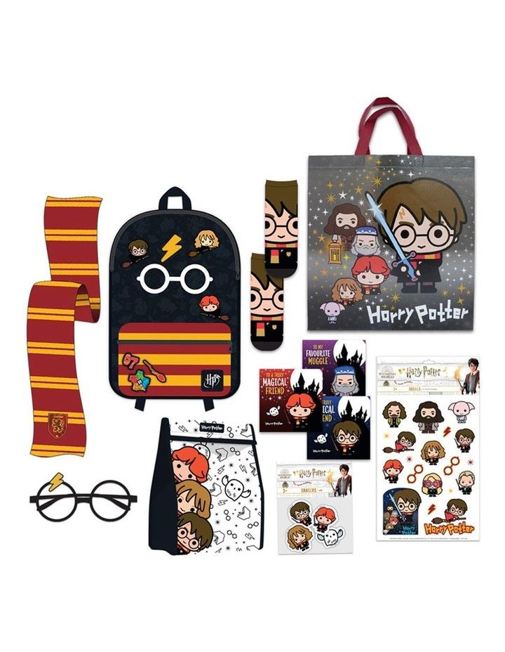 Kids Boys Showbag Backpack/Glasses/Scarf/Socks/Erasers/Decals/Cards image 1