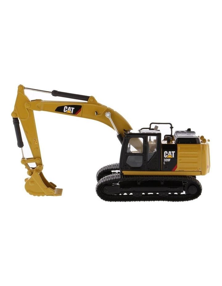 1:64 Diecast 320F L Hydraulic Excavator Kids Children Vehicle Toy Yellow image 1