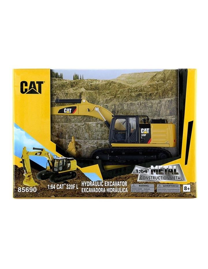 1:64 Diecast 320F L Hydraulic Excavator Kids Children Vehicle Toy Yellow image 2