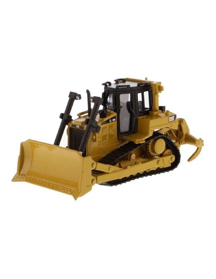 1:64 Scale Diecast Metal D6R Bulldozer Tractor Kids/Children Toy Yellow image 1