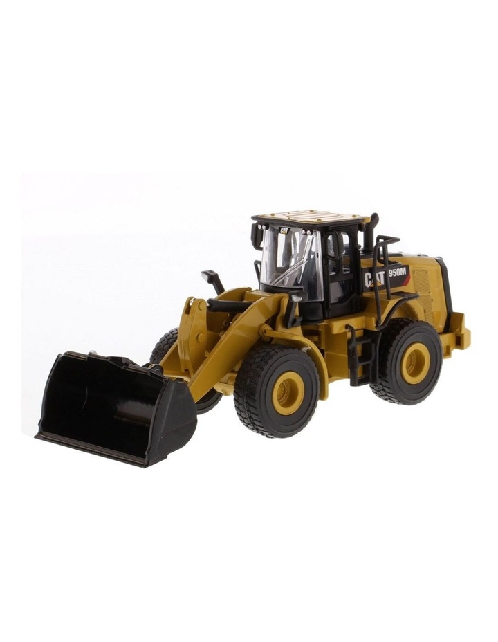 1:64 Scale Diecast 950M Wheel Loader Kids/Children Vehicle Toy Yellow image 1