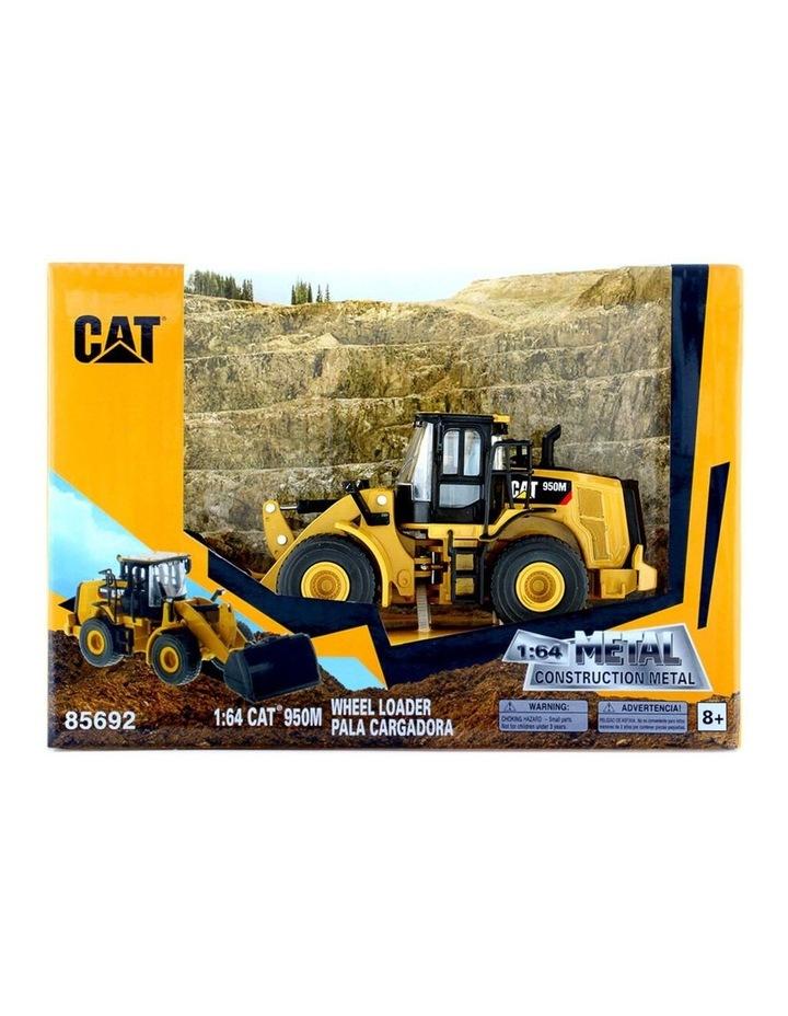 1:64 Scale Diecast 950M Wheel Loader Kids/Children Vehicle Toy Yellow image 2