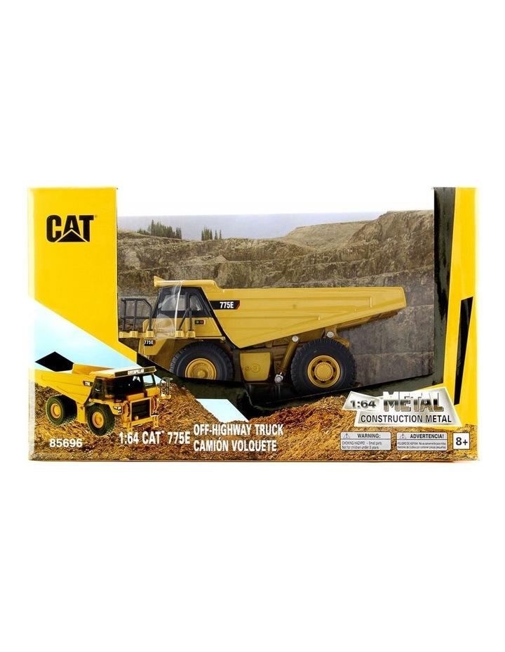 1:64 Diecast 775E Off-Highway Truck Kids/Children Vehicle Toy Yellow image 1