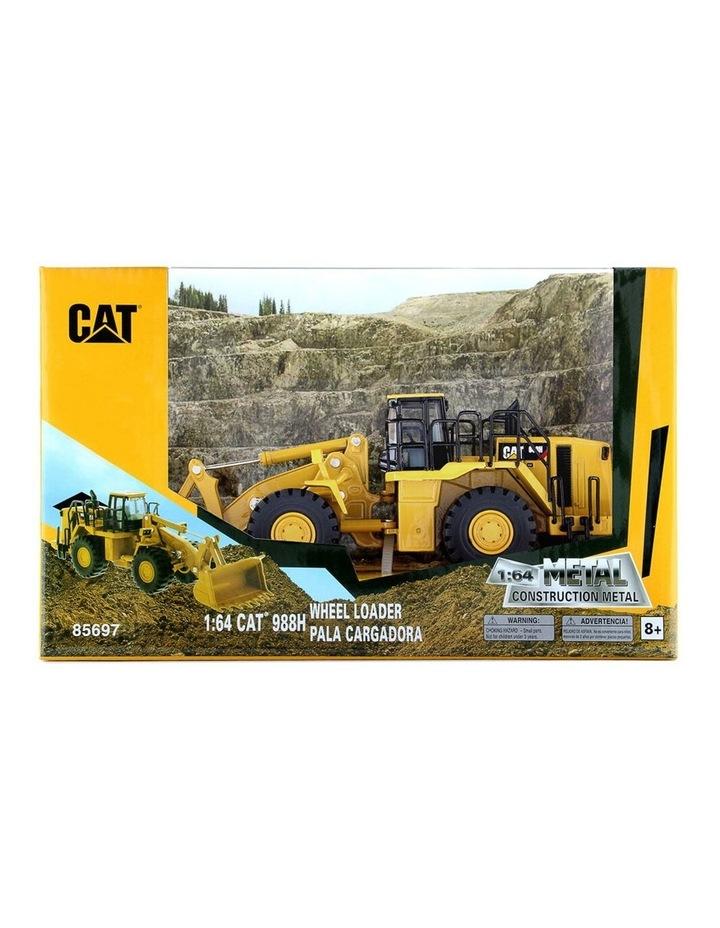 1:64 Diecast Metal 988H Wheel Loader Kids/Children Vehicle Toy Yellow image 1