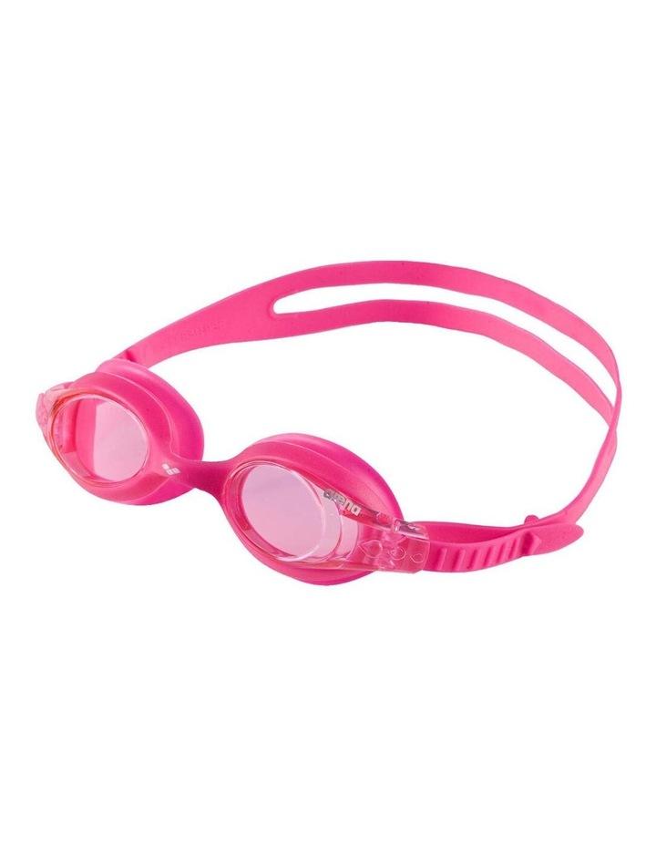 Junior X-Lite Adjustable Swimming Goggles Silicone/Anti-Fog Kids 2-5y Pink image 1