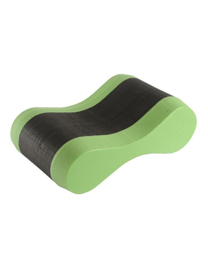 Swim Training Freeflow Pullbuoy Swimming Pool Aid Soft Foam Float BLK/GRN image 1