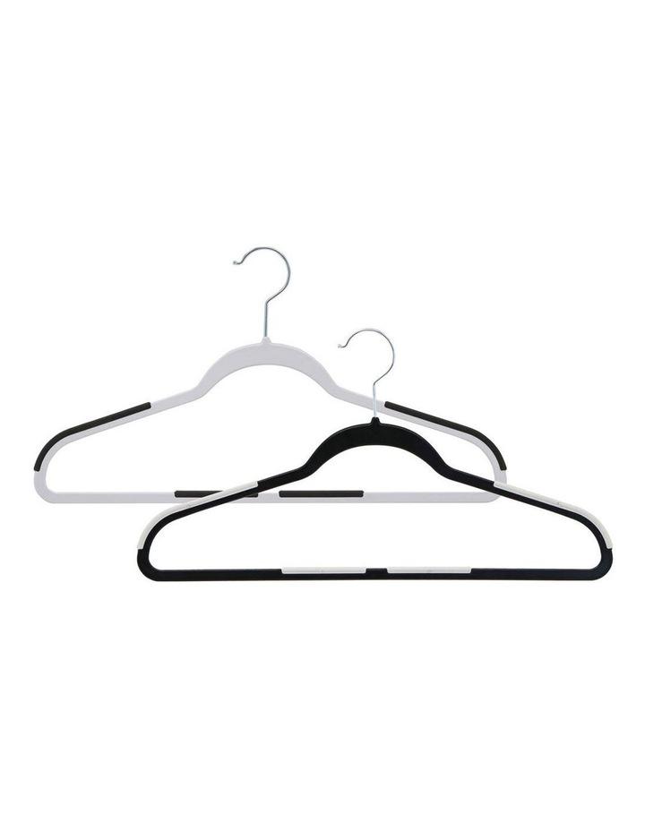 3PK Anti-Slip Hangers Organiser Clothing Wardrobe Hanger Assorted image 2