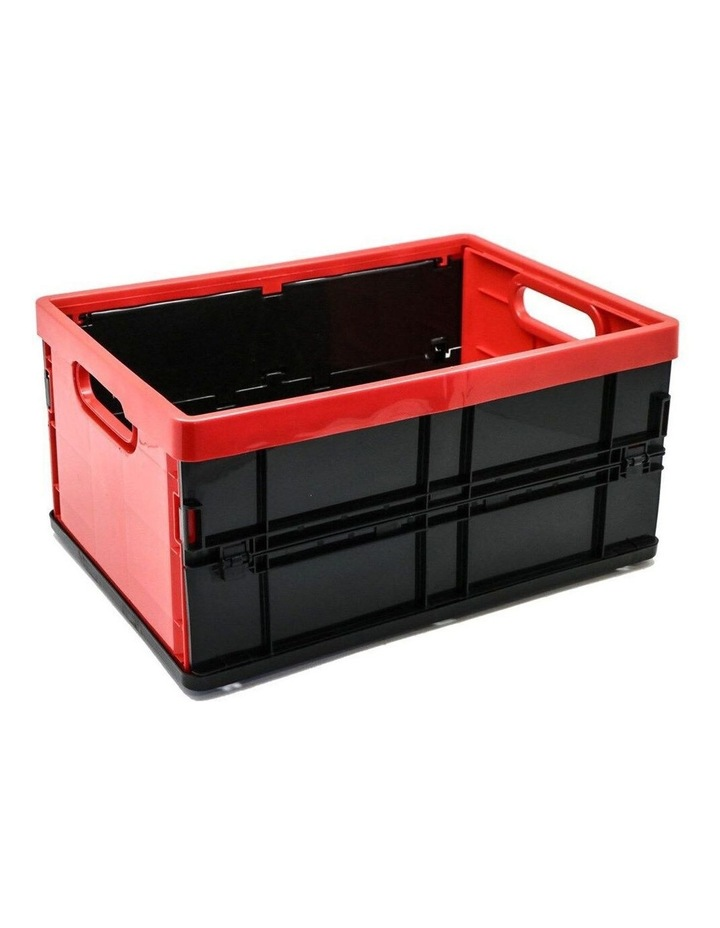 20L Collapsible Crate Storage Organiser BPA Free Container Assorted image 1