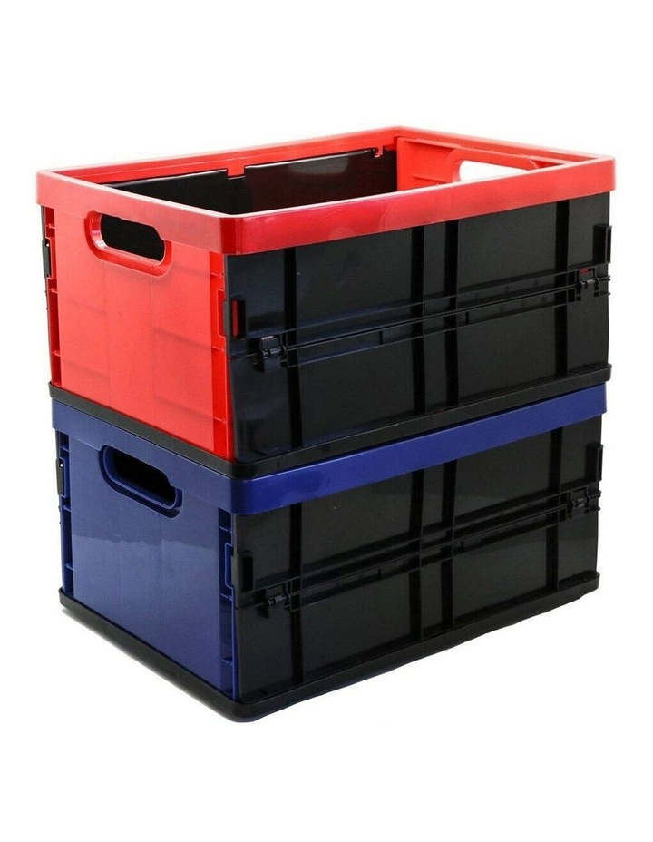 20L Collapsible Crate Storage Organiser BPA Free Container Assorted image 2