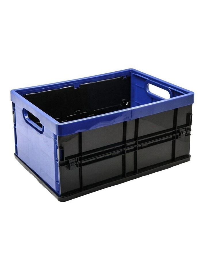 20L Collapsible Crate Storage Organiser BPA Free Container Assorted image 3