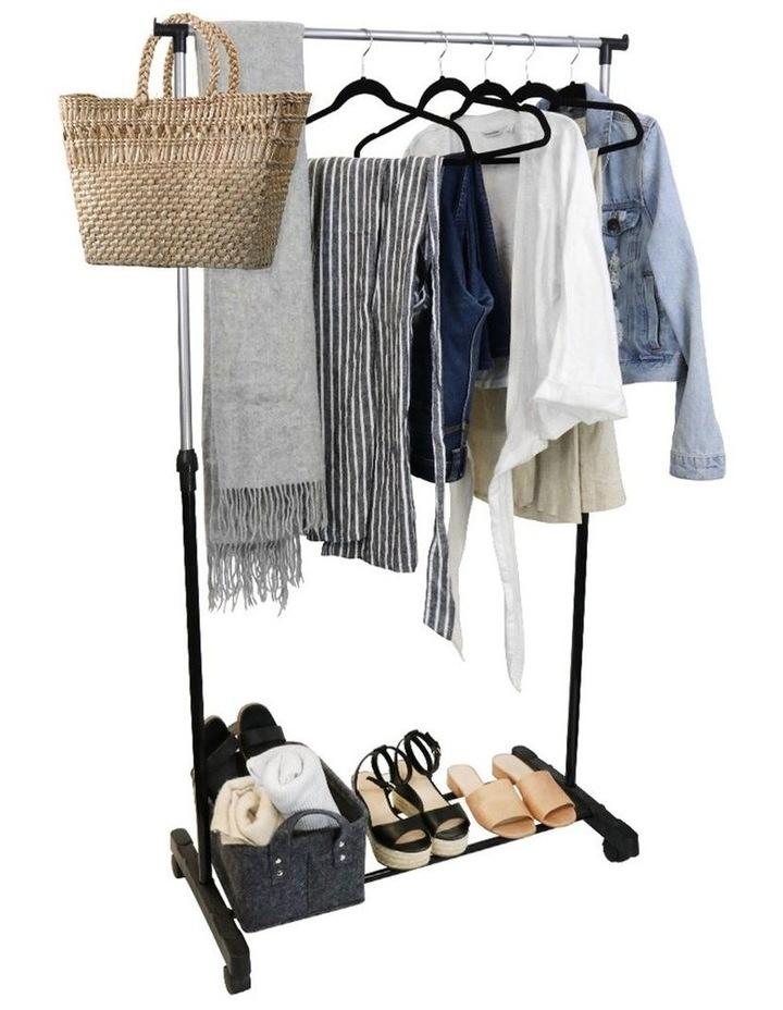 Hight Adjustable Garment/Clothes Rack/Closet Hanger Organiser/Storage image 5
