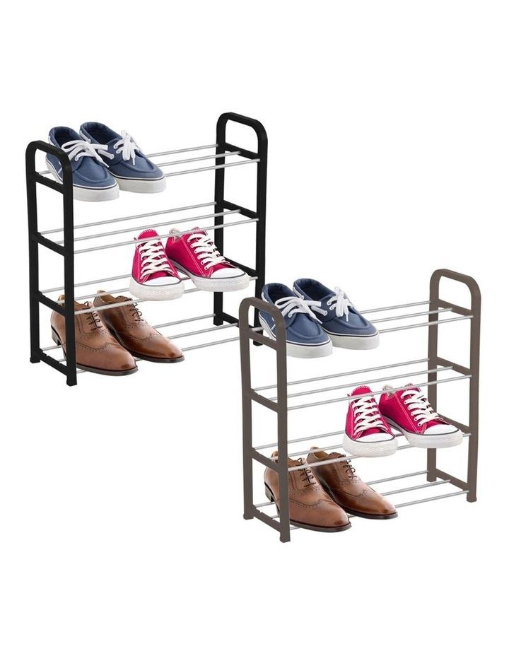 Tier Shoe Rack/Storage Stand Shoes Organiser/Cabinet Asst. Colour image 3