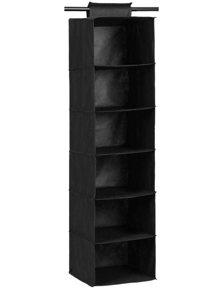 Mode 6 Tier 115cm Hanging Wardrobe Storage Clothes Organiser Assorted image 1