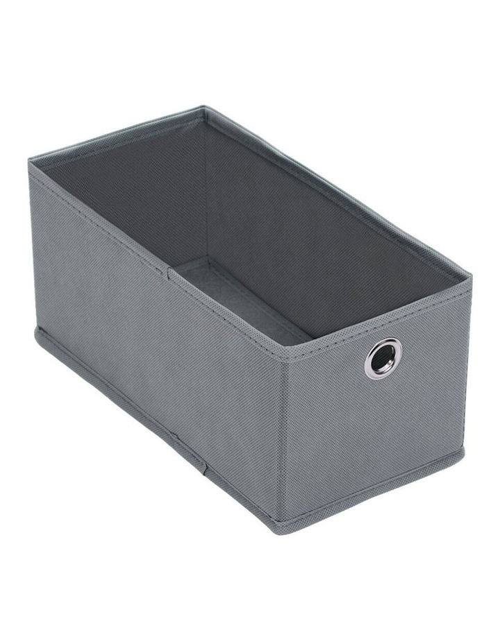 Mode Collapsible 28cm Rectangular Storage Box Clothes Organiser Asst. image 2