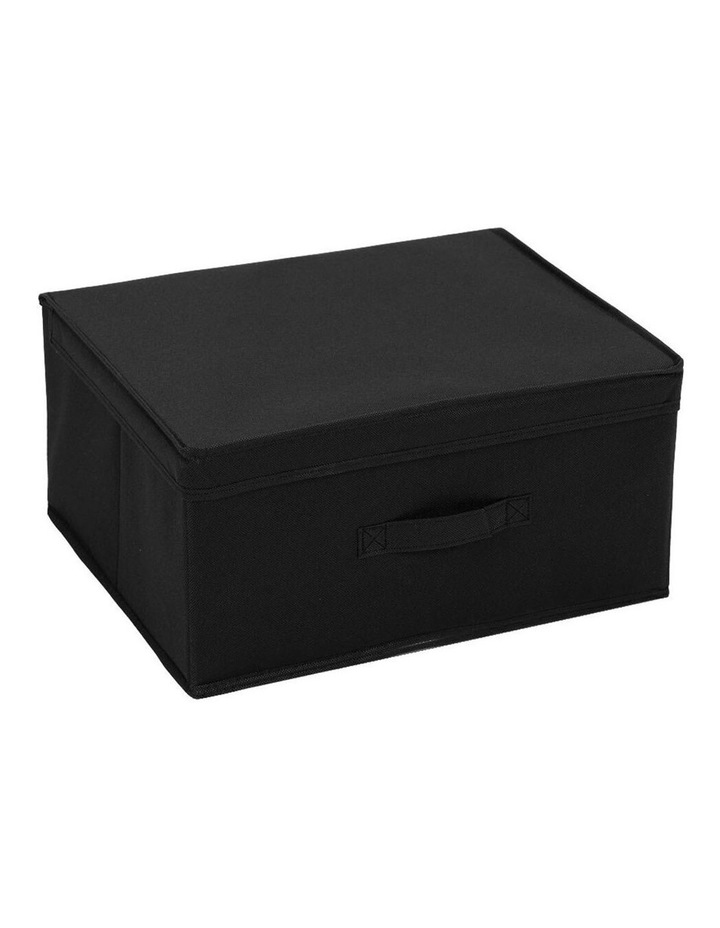 Mode 28L Square Storage Box Home/Clothes Organiser w/ Lid Assorted image 1