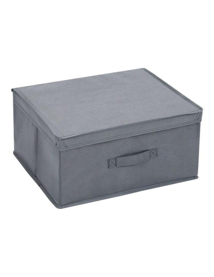 Mode 28L Square Storage Box Home/Clothes Organiser w/ Lid Assorted image 2
