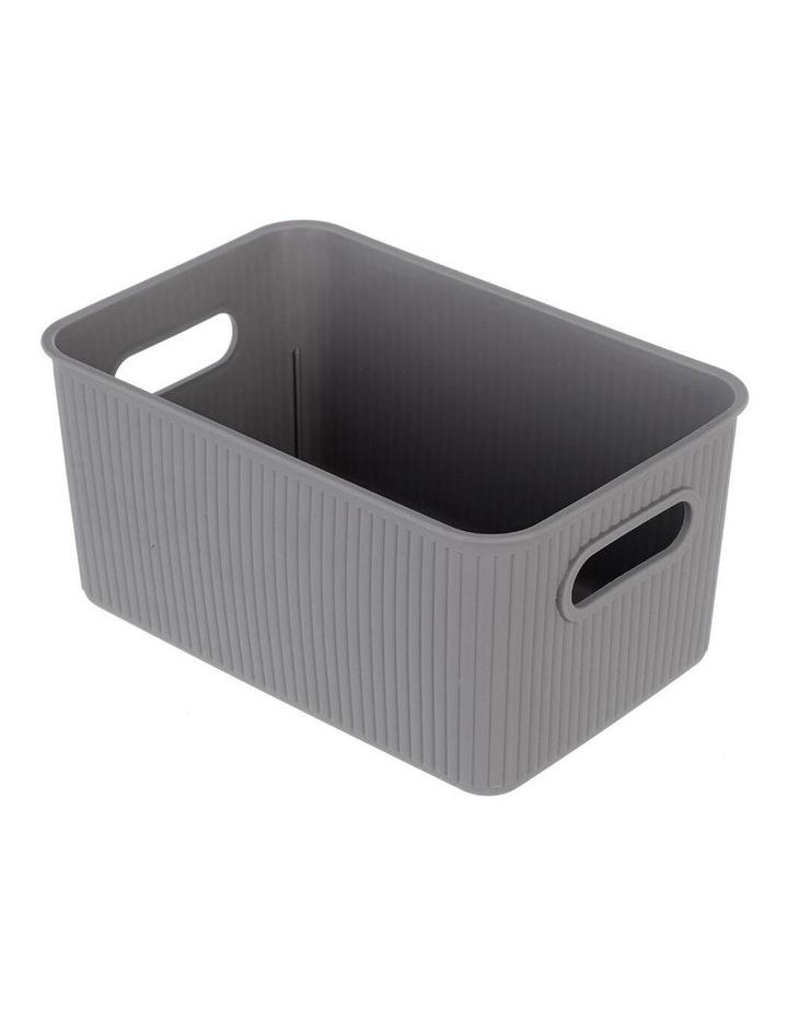 27.5cm Kaia Storage Basket Organiser Container w/ Handles Assorted image 1