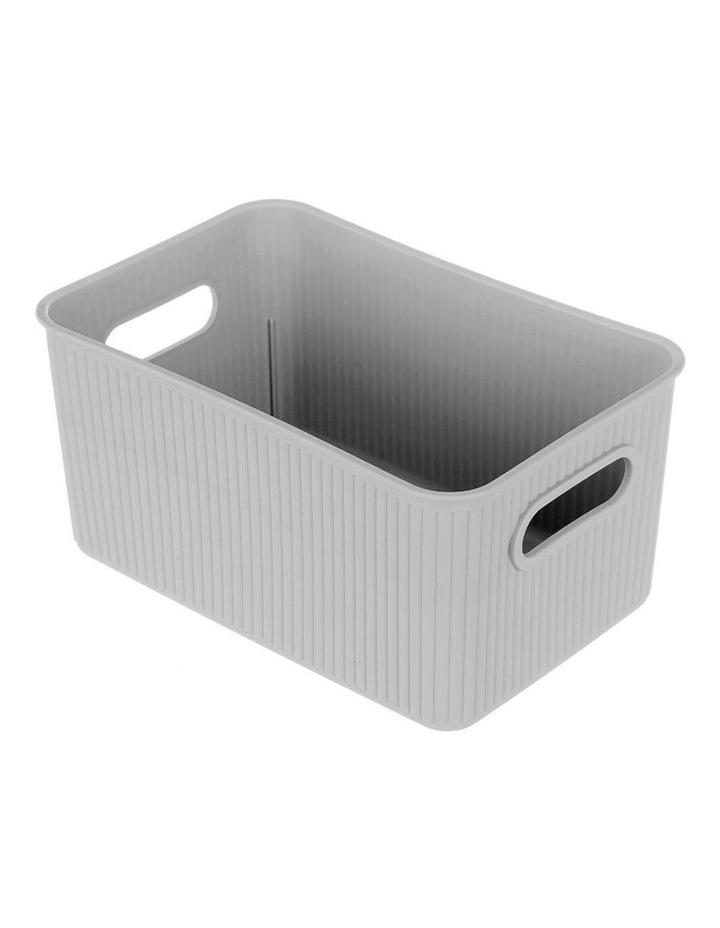 27.5cm Kaia Storage Basket Organiser Container w/ Handles Assorted image 2