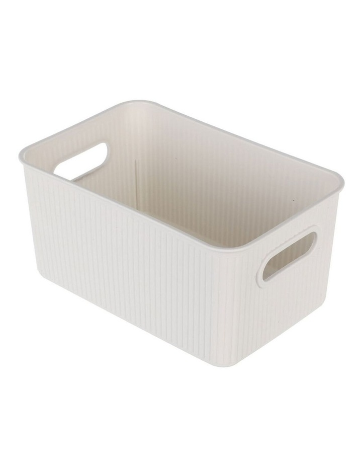 27.5cm Kaia Storage Basket Organiser Container w/ Handles Assorted image 3