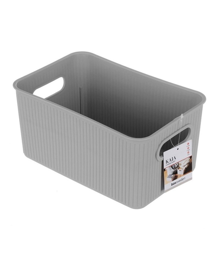 27.5cm Kaia Storage Basket Organiser Container w/ Handles Assorted image 5