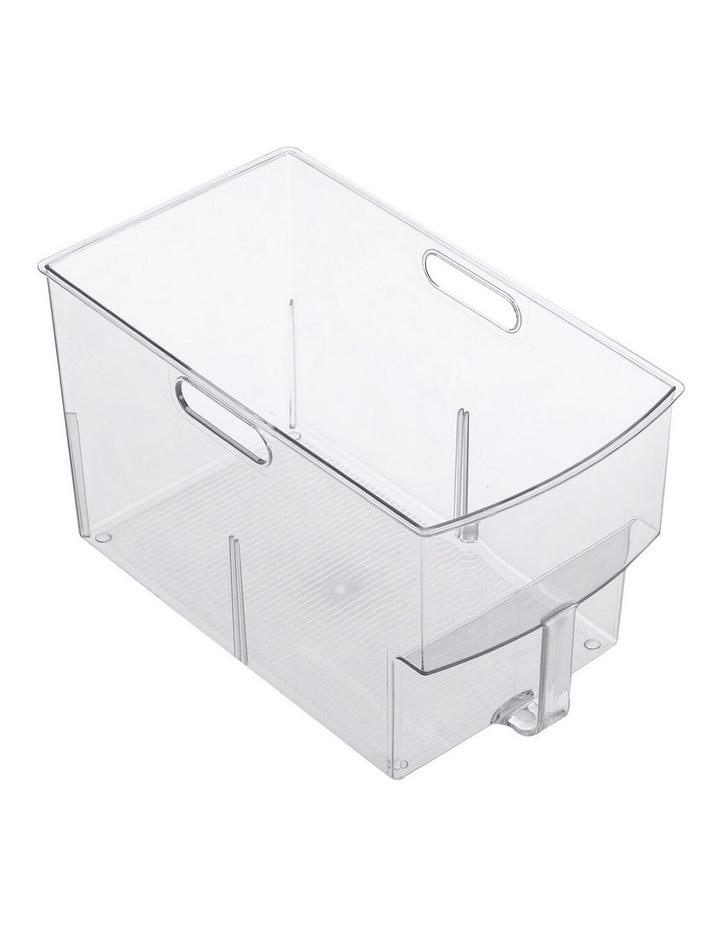 Crystal Plastic Storage Container/Bin 32cm Large Fridge/Pantry Bin image 2