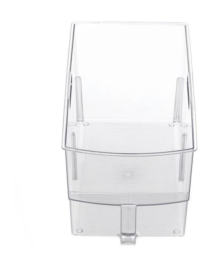 Crystal Plastic Storage Container/Bin 32cm Large Fridge/Pantry Bin image 3