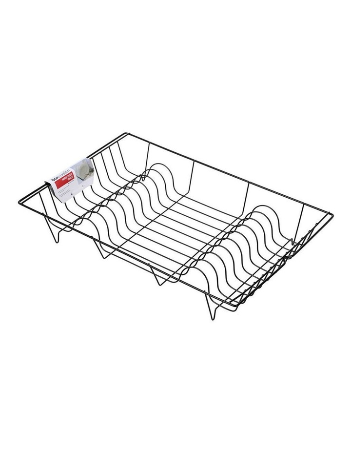 Wire 48cm Dish Plates/Bowls Drying Rack/Holder/Organiser Assorted image 1