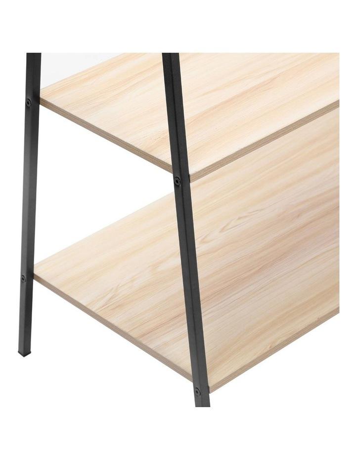 Garment/Clothes Rack/Closet Hanger Organiser/Storage w/ Wood Shelves image 5