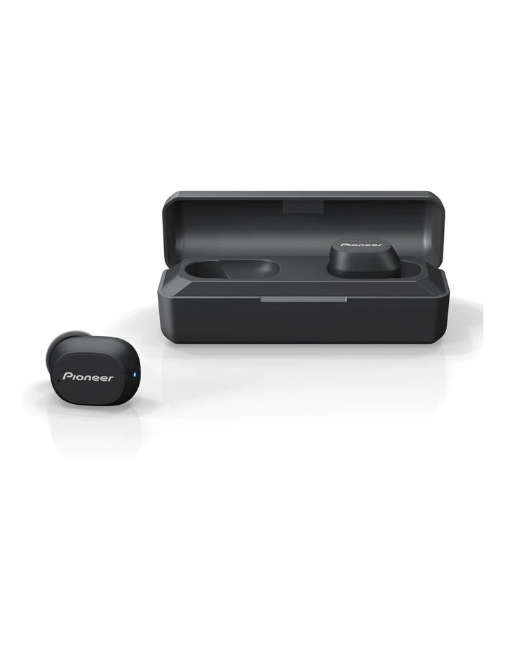 Black In-Ear Bluetooth Truly Wireless Sports Earphones with Microphone SE-C5TW-B image 1