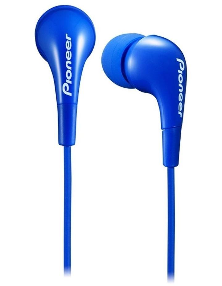 SE-CL502 In Ear Dynamic Headphones/Earphones iPhone/Smartphone/MP3 Blue image 1
