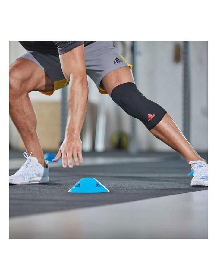 Knee/Joint Brace/Support/Sleeve L Unisex Sports/Training Elastic Black image 4