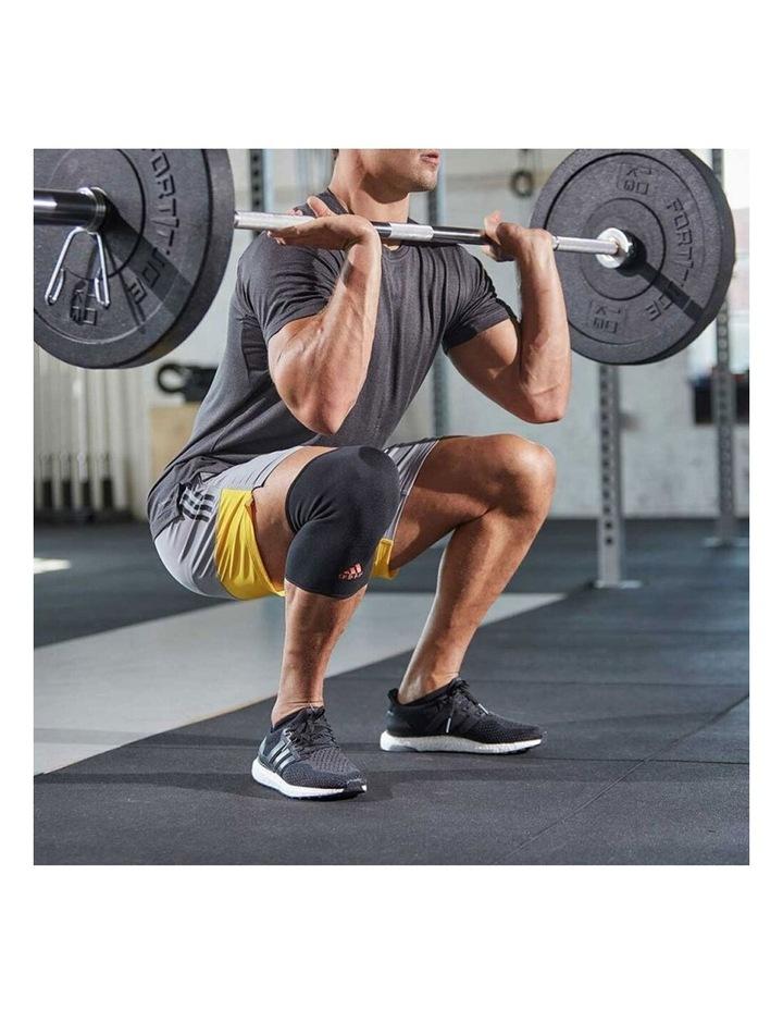 Knee/Joint Brace/Support/Sleeve L Unisex Sports/Training Elastic Black image 5