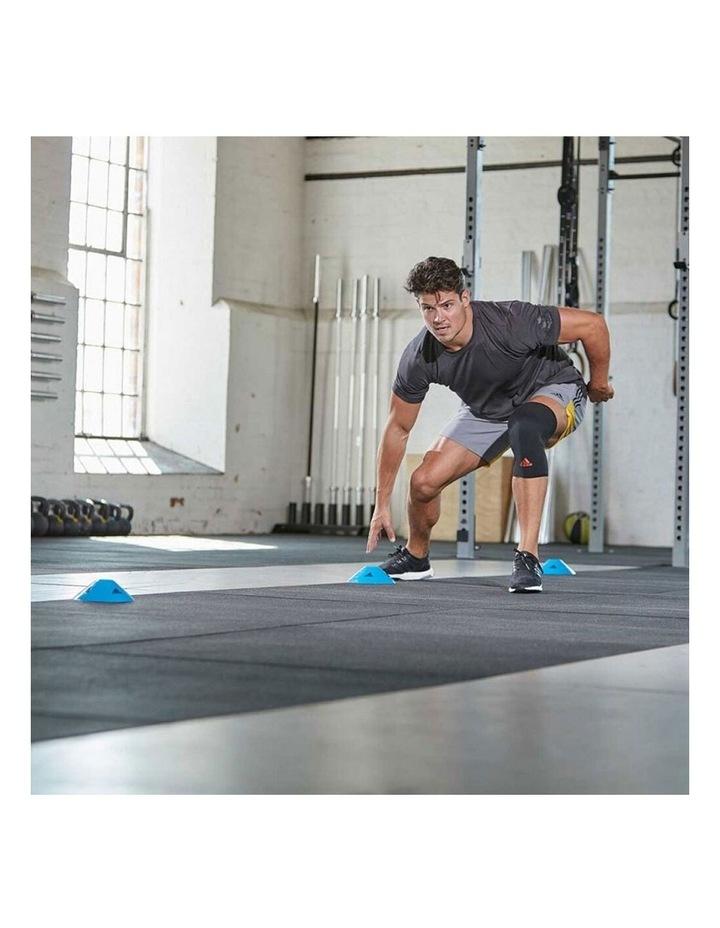 Knee/Joint Brace/Support/Sleeve L Unisex Sports/Training Elastic Black image 6