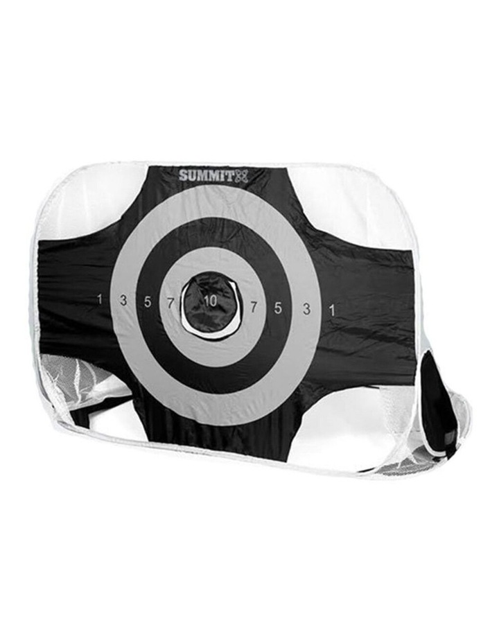 1.8m 2-in-1 Premier/Target Goal Portable w/ Carry Bag f/ Football/Soccer image 2