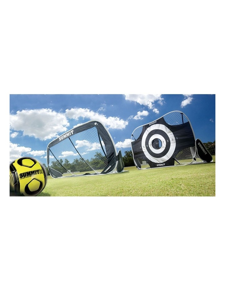 1.8m 2-in-1 Premier/Target Goal Portable w/ Carry Bag f/ Football/Soccer image 3